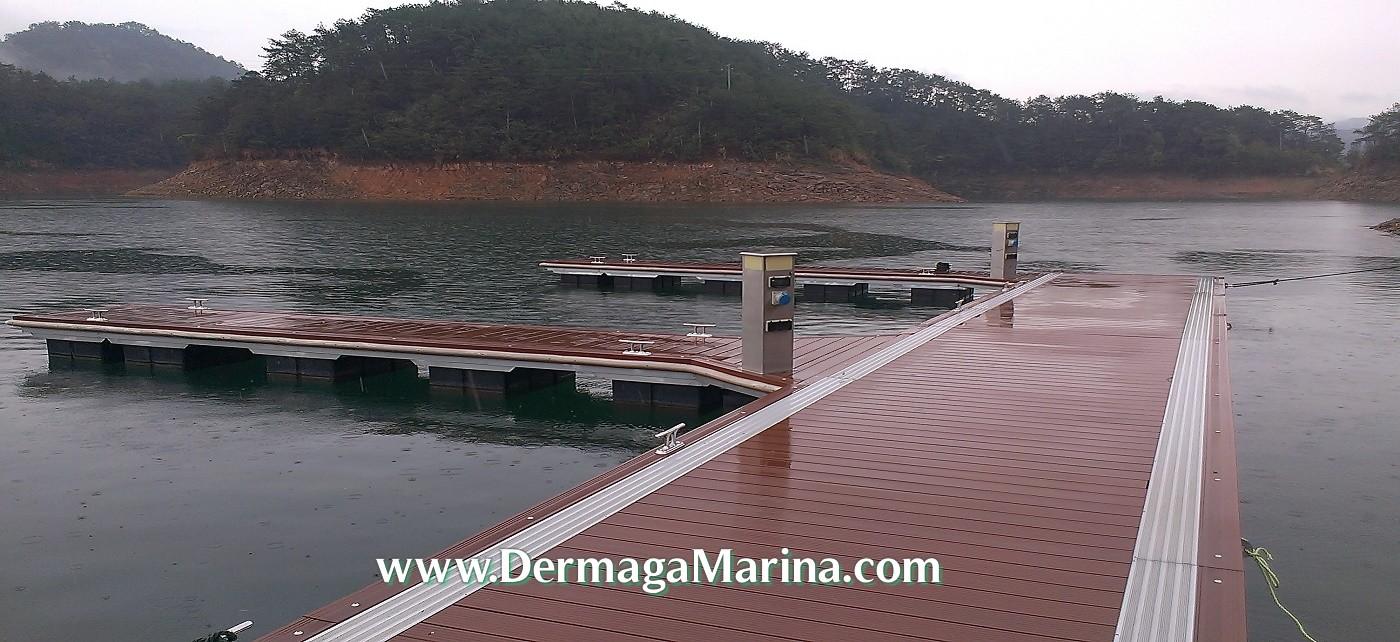 Dermaga Marina Dermaga Apung Aluminium Murah