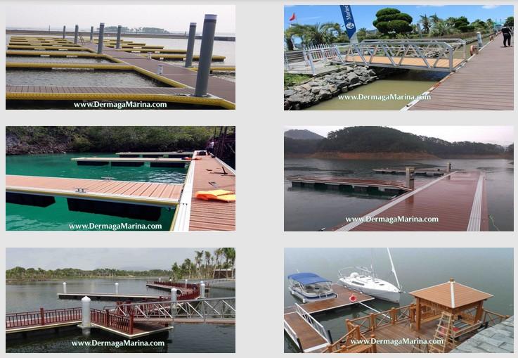 Dermaga Apung Marina Aluminium